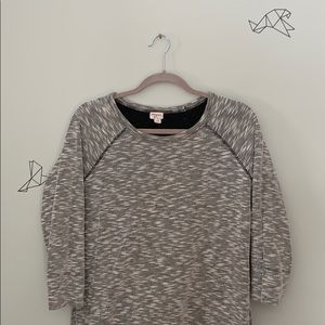 Grey seawater stretch dress. Maternity friendly